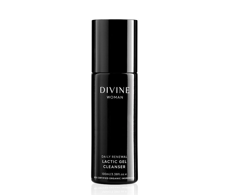 Divine Woman Daily Renewal Lactic Gel Cleanser 100ml ~ ACO Certified Organic